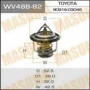 Термостат. Toyota: Ipsum, Cynos, Town Ace Noah, RAV4, Sprinter Trueno, Dyna, Lite Ace, Toyoace, Corona, Crown, Avensis, Chaser, Corsa, Corolla Levin...