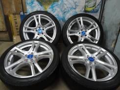 Продам Супер Крутые Редкие OZ Racing Adrenalina+Лето205/45R17Toyota, SU. 7.0x17 5x100.00 ET48