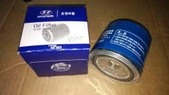 Масляный фильтр (26300-35504, 26300-35501, 26300-35500) на Hyundai Click (2006-2011) / V-1400cc V-1600cc (бензин) / Оригинал