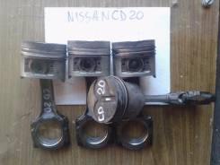 Шатун. Nissan: Sunny, Lucino, AD, Wingroad, Vanette Serena, Avenir, Almera, Pulsar, Sunny California, Bluebird Sylphy, Primera, Bluebird Двигатель CD2...