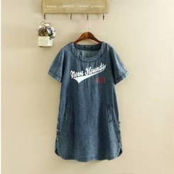 Платья джинсовые. 50, 52, 54, 56, 58, 60