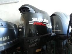 Suzuki. 140,00л.с., 4х тактный, бензин, нога L (508 мм), Год: 2007 год