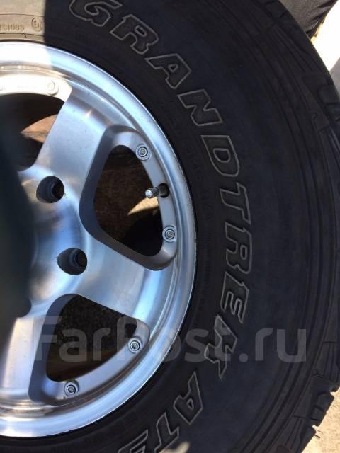 Колеса Летнии 275/70 R16. 8.0x16