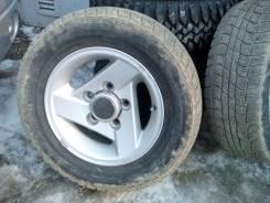 4 колеса на jimny на родном литье. x15 5x139.70