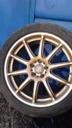 Продам комплект колес Rays Prodrive GC-010E на жирном лете Triangle. 7.5x17 5x100.00 ET38