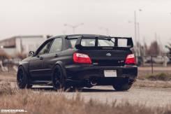 Спойлер. Subaru Impreza WRX, GD, GD9, GDA, GDB Subaru Impreza WRX STI, GD, GDB