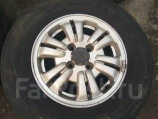 Продам летние шины 215/70R15 на литых дисках Honda. x15 4x114.30
