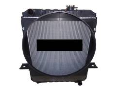 Радиатор охлаждения двигателя. Baw Fenix