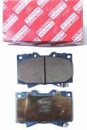 Колодка тормозная. Lexus LX450, FZJ80 Toyota Land Cruiser, FJ80, FZJ80, HZJ80, HZJ81, HDJ80, HDJ81 Двигатели: 1FZFE, 1HZ, 1HDT, 3FE, 1HDFT, 3F, 1FZF