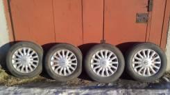 Комплект летних колёс. 6.0x15 4x114.30 ET45 ЦО 66,1мм.