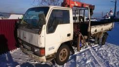 Mitsubishi Canter. Продам Мисубиси-Кантер с крановой установкой, 3 560 куб. см., 2 000 кг.