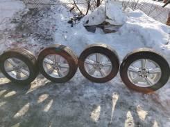 Продам или обменяю колеса 215/60/16. x16 5x114.30 ET40