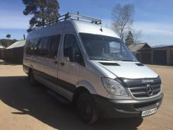 Mercedes-Benz Sprinter. Мерседес Спринтер 515, 2 200 куб. см., 19 мест