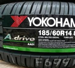 Yokohama A.Drive AA01. Летние, 2016 год, без износа, 1 шт