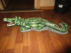 Крокодил из бетона.