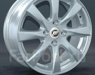 Диски новые R15 4*100 модель Lifan LF1 серебро. 6.0x15, 4x100.00, ET45, ЦО 54,1мм.