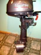 Tohatsu. 5,00л.с., 4х тактный, бензин, нога S (381 мм), Год: 2010 год