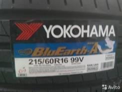 Yokohama BluEarth-A AE-50. Летние, 2016 год, без износа, 4 шт