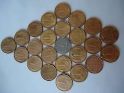 Монеты 1 рубль 1992 года 24шт.