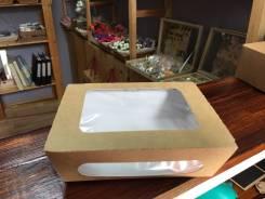 Коробка крафт с окошком