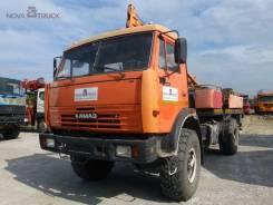 Камаз. Бурильно-Крановая машина на базе в хорошем состоянии, 10 850 куб. см., 2 000 кг.