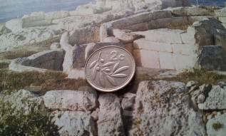Мальта. 2 цента 1993 года. Флора.