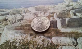 Мальта. 2 цента 1982 года. Редкая! Старый тип! Рыцарь.