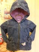 Куртки джинсовые. Рост: 86-92, 92-98 см