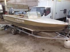 Продам моторную лодку . Год: 1987 год, длина 5,00м., двигатель подвесной, 50,00л.с., бензин