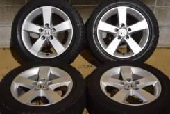 Комплект колес с жирной всесезонной резиной 205-55 R16 Civic. 6.5x16 5x114.30 ET45 ЦО 64,1мм.