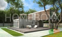 Дом из 4 шт 40 футовых контейнеров (120 кв м)