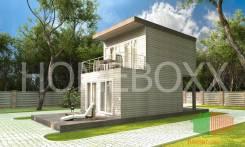 Дом из 4 шт 20 футовых контейнеров (60 кв м)