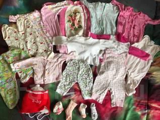 Одежда на малышку от 3-6 мес. Рост: 60-68, 68-74 см