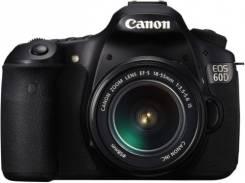 Canon EOS 60D. 20 и более Мп, зум: 14х и более