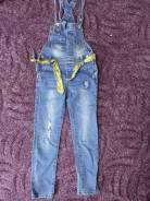 Комбинезоны джинсовые. Рост: 122-128 см