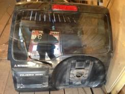 Дверь багажника. Mitsubishi Pajero Mini, H58A Двигатели: 4A30T, 4A30. Под заказ