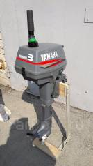 Yamaha. 3,00л.с., 2-тактный, бензиновый, нога S (381 мм), Год: 2008 год