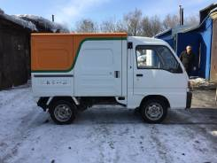 Subaru Sambar Truck. Subaru Sumbar Truck, 700 куб. см., 350 кг.