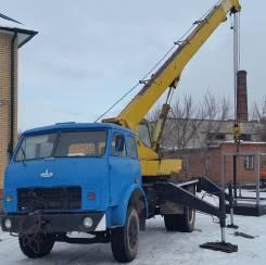 МАЗ 500. Автокран 16 тонн МАЗ 1990 г. в., 16 000 кг., 14 м.