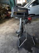 Suzuki. 4,00л.с., 2х тактный, бензин, нога S (381 мм)