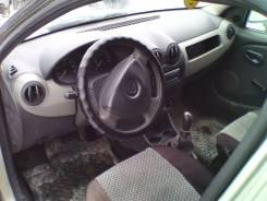Панель приборов. Renault Logan