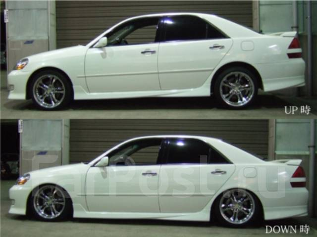 Койловер. Lexus IS300, GXE10, JCE10 Lexus IS200, GXE10, JCE10 Toyota: Crown, Verossa, Mark II, Altezza, Progres, Brevis