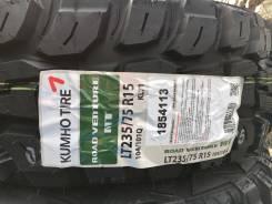 Kumho Road Venture M/T KL71. Летние, 2017 год, без износа, 4 шт