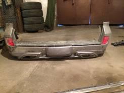 Накладка на бампер. Lexus LX570