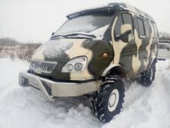 ГАЗ Соболь. Продаётся Соболь 4*4 в Новосибирске, 2 400 куб. см., 7 мест