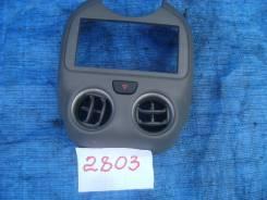 Консоль панели приборов. Nissan March, NK13 Двигатель HR12DE. Под заказ