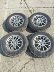 Bridgestone blizzak REVO GZ 185/70R14 с литьем ECO Forme. x14 4x100.00