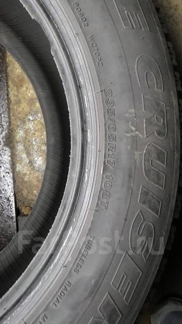 Bridgestone Ice Cruiser. Зимние, шипованные, 2012 год, износ: 5%, 4 шт