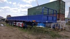 """Cimc. Бортовой полуприцеп """"CIMC"""" грузоподъёмностью 60 тонн., 60 000 кг."""