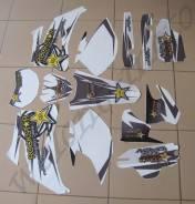 Полный комплект наклеек Бело серый Yamaha WR250/450F (07-11)